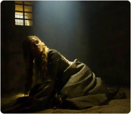 Cersei floor Game of Thrones The Gift