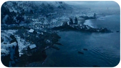 Hardhome ariel view Game of Thrones Hardhome