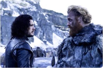 Jon Snow Tormund Giantsbane Game of Thrones Hardhome