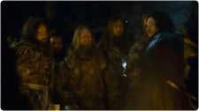 Jon Snow with wildings Game of Thrones Hardhome