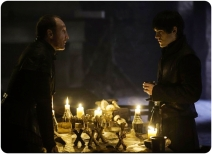 Roose and Ramsey Bolton Game of Thrones Kill the Boy