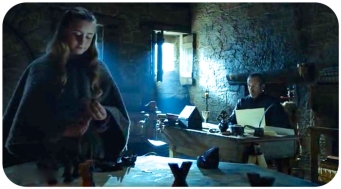 Shireen Stannis desk Game of Thrones Sons of the Harpy