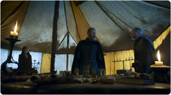 Stannis Davos Melisandre Game of Thrones The Gift