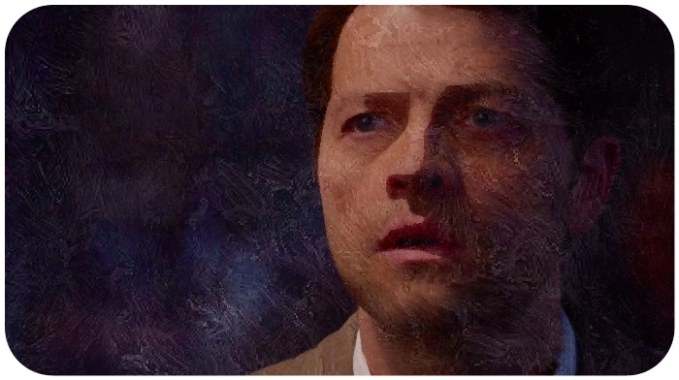 Castiel surprise Supernatural The Prisoner