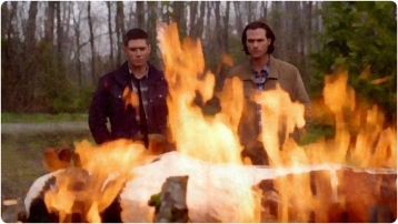 Dean Sam Fire 3 Supernatural The Prisoner