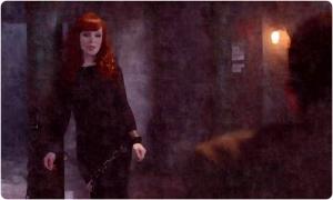 Rowena chains Supernatural The Prisoner