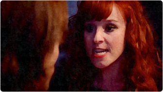 Rowena yells Supernatural The Prisoner