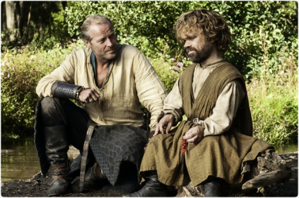 Jorah Tyrion Game of Thrones Unbowed Unbent Unbroken