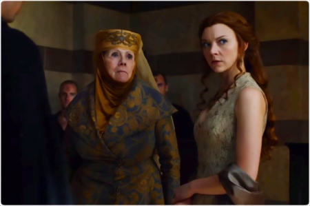 Olenna Margaery inquest Game of Thrones Unbowed Unbent Unbroken