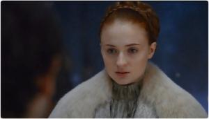 Sansa wedding 2 Game of Thrones Unbowed Unbent Unbroken