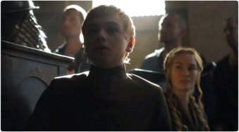 Tommen Cersei Game of Thrones Unbowed Unbent Unbroken