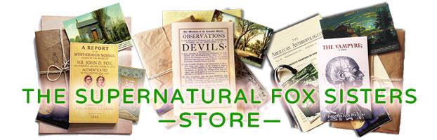 Shop: thesupernaturalfoxsisters@bigcartel.com