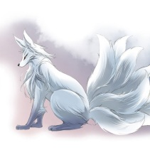 Banya is a ninetails fox from the comic A Thousand Years Ninetail.