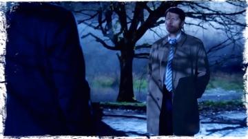 Cas calls Crowley shadows Supernatural Brother's Keeper