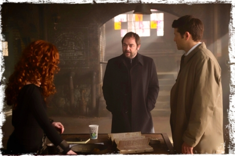 Crowley complains to Rowena Supernatural Brother's Keeper