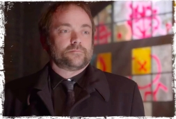 Crowley watches spell Supernatural Brother's Keeper