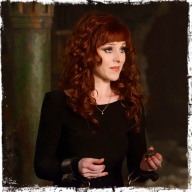 Rowena holding Supernatural Brother's Keeper
