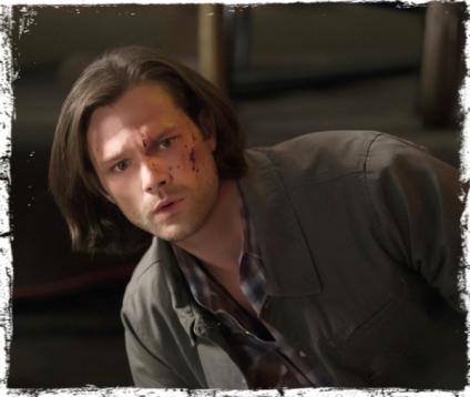 Sam blood bar Supernatural Brother's Keeper