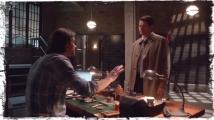 Sam Cas bunker Supernatural Brother's Keeper