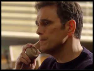 Matt Dillon Ethan Burke answers phone Wayward Pines