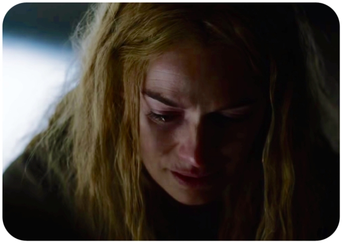 Cersei crying Game of Thrones Mothers Mercy