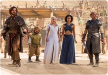 Daenerys Daario Tyrion Jorah Game of Thrones Dance of Dragons