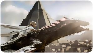 Daenerys Drogon 3 Game of Thrones Dance of Dragons