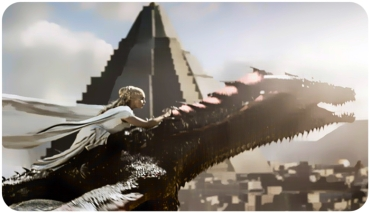 Daenerys Drogon 3 Game of Thrones Dance of Dragons
