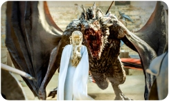 Daenerys Drogon mouth Game of Thrones Dance of Dragons
