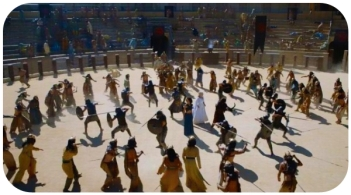 Daenerys trapped in pit Game of Thrones Dance of Dragons