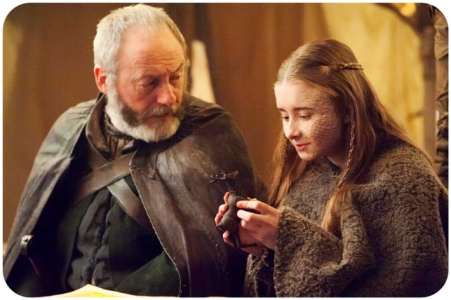 Davos Shireen 2 Game of Thrones Dance of Dragons
