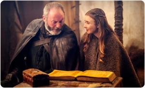 Davos Shireen Game of Thrones Dance of Dragons