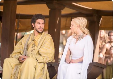 Hizdahr Daenerys Game of Thrones Dance of Dragons