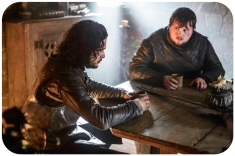 Jon Snow Sam Tarly Game of Thrones Mothers Mercy