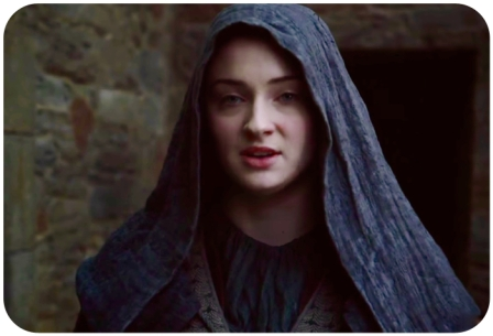 Sansa Stark CU Game of Thrones Mothers Mercy
