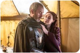 Stannis Baratheon Melisandre Game of Thrones Mothers Mercy