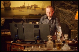David Pilcher Toby Jones Wayward Pines Cycle