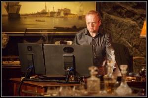 David Pilcher Toby Jones Wayward Pines Cycle