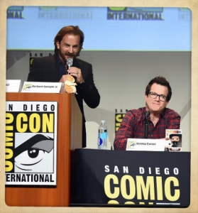 Richard Speight Jeremy Carver Comic Con 2015