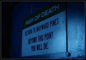 Risk of Death Wayward Pines The Friendliest Place on Earth