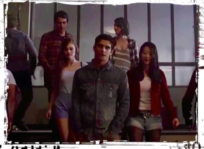 Wolf pack Teen Wolf Creatures of the Night
