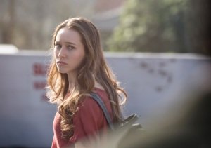 Alicia Clark (Alycia Debnam-Carey) at school. Photo by Justin Lubin/AMC