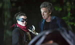 Maisie Williams Peter Capaldi Doctor Who Season 9