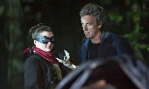 Maisie Williams Peter Capaldi Doctor Who Season 9
