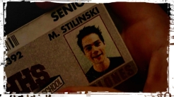 M. Stilinski badge Teen Wolf Ouroboros