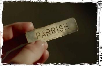 Parrish burned badge Teen Wolf Ouroboros