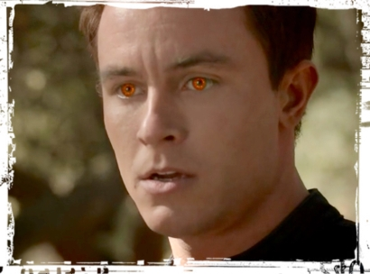Parrish orange eyes Teen Wolf LIes of Omission