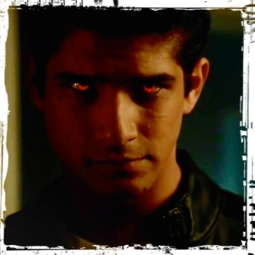 Scott red eyes dark Teen Wolf Ouroboros