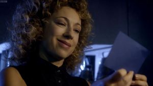 River Song note Doctor Who
