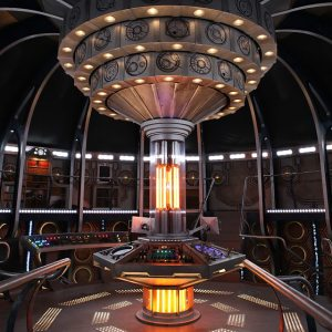 TARDIS interior Doctor Who